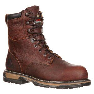 "NEW Rocky 8"" IronClad Waterproof Boots Mens"
